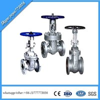 API 150lb /300lb/600lb Cast Steel Gate Valve with Gear Box