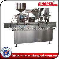 carbonated soft drinks filling and sealing machine