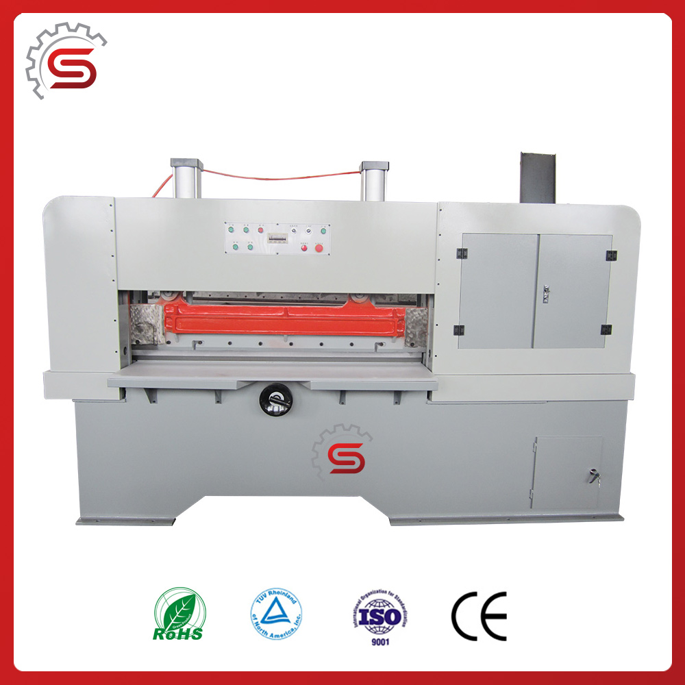 Pneumatic Veneer clipper for chipboard