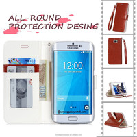 High Quality Lighter Wholesale PU Leather Phone Case For Samsung Note 5 edge