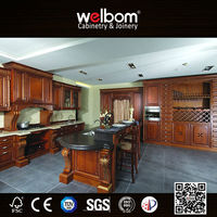 Beautiful Wooden Remodeling Kitchen Cabinets