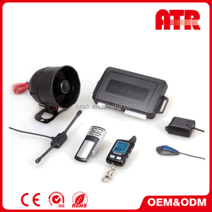 Anti-hijack auto two way car alarm system