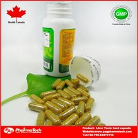 Private label OEM manufacturers herbal liver tonic hard capsules