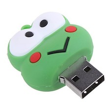 so cute design frog Micro flash drives offer lifetime warranty