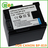 BP-819 BP-827 BP-827(T) Camera Battery for Canon HG20 HG21 VIXIA HF M30 VIXIA HF M300 VIXIA HF M31