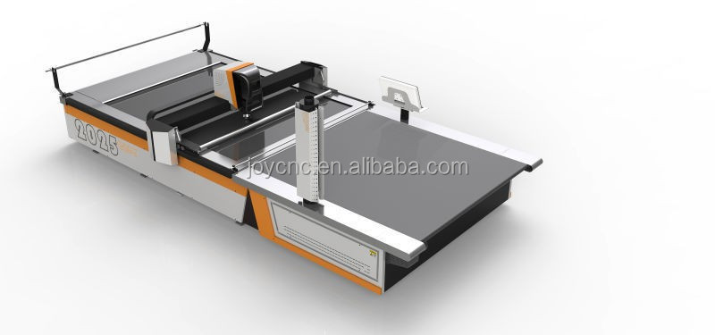High Accurancy Computerized CNC Fabric Cutting Machine With Easy Operation Software