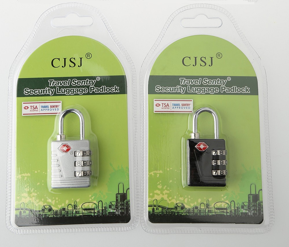 TSA-523 High Security Lock Adjustable TSA Combination Padlock