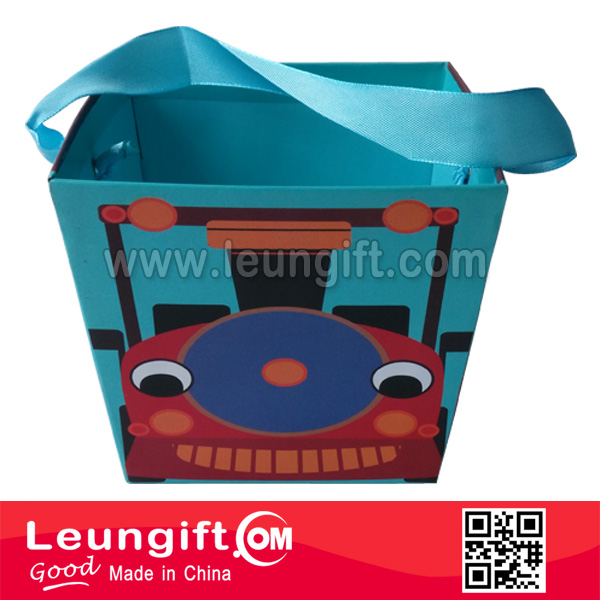 Cardboard Train tray paper gift box
