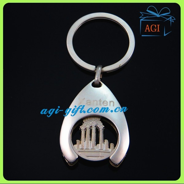 country tourism souvenir metal coin holder