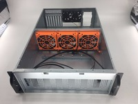customized 4U bitcoin miner rig case universal type for motherboard Ufasoft Coin mining machine