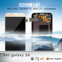 More popular for samsung galaxy s6 phone unlocked original lcd