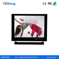 Metal casing 8inch industril LCD CCTV monitor, bus cctv monitor, portable cctv monitor