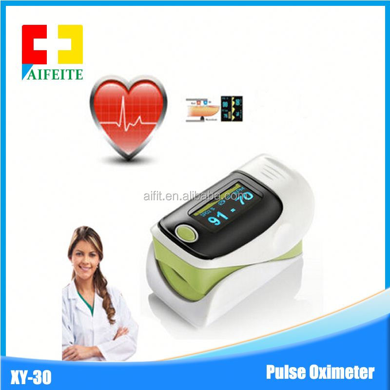 Handheld wired great performance pulse oximeter/ Handheld patient monitor 3-lead ECG for hospital&clinic
