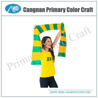 New type sports scarf football team scarf scarves custom