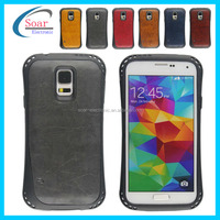 back cover phone case for Samsung galaxy s5 i9600 with Veneer gluing