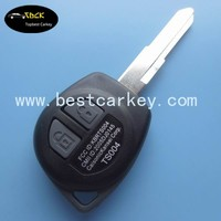 Topbest 2 buttons car remote key for car keys ID46 chip 315Mhz remote control key
