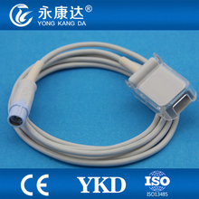 Compatible for Drager Oximax technology 7pin extension cable Suitable for Nellcor oximax DB9 spo2 sensor