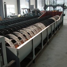 Classifying machine / ore Spiral classifier for iron ore, copper, zinc, gold ,nickel, manganese for ore separation