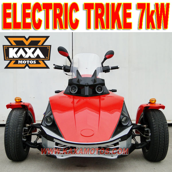 Three Wheels E Trike 7kW