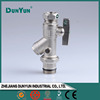 Male Union Brass Flange Ball Valve