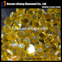 Hot sale China large size fancy synthetic yellow diamond price