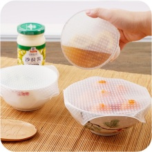 BPA free silicone food wrap film keep foods fresh plastic film