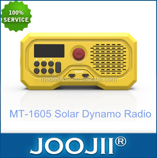 Wholesale new design solar powered radio