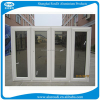 Beautiful aluminum casement window guangzhou factory