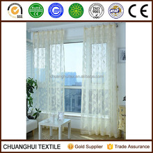 color optional luxury jacquard sheer drapes for window curtains