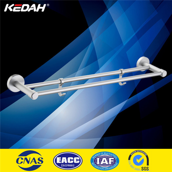 New design high quality aluminium extension towel bar with hook