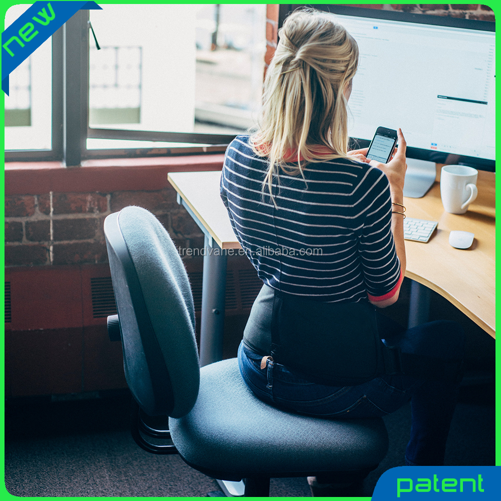 2016 new product back posture support better than office chair back support cusion makes every chair ergonomic