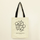 Custom shopping linen cotton bag canvas tote bag