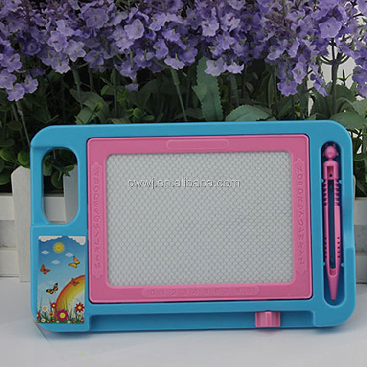 Magnetic drawing board kids erasable plastic writing sketch board