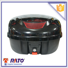 Chinese black motorcycle metal tail box price motor tail box