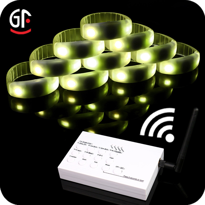 Very Cheap Electronics Remote Control LED Bracelet Control DMX 2 in 1 Function DMX512
