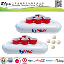 fashion water toys beer pool floating inflatable party pong racks game float set