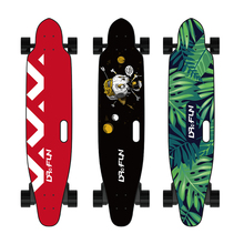 DR4FUN cheap fastest 45KM/H 30KM waterproof e skate 4wd e-skateboard board longboard electric skateboard with led lights