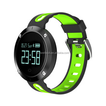2018 heart rate monitor band watch measure blood pressure men femal children DM58 sport smart watches with silicone watch band