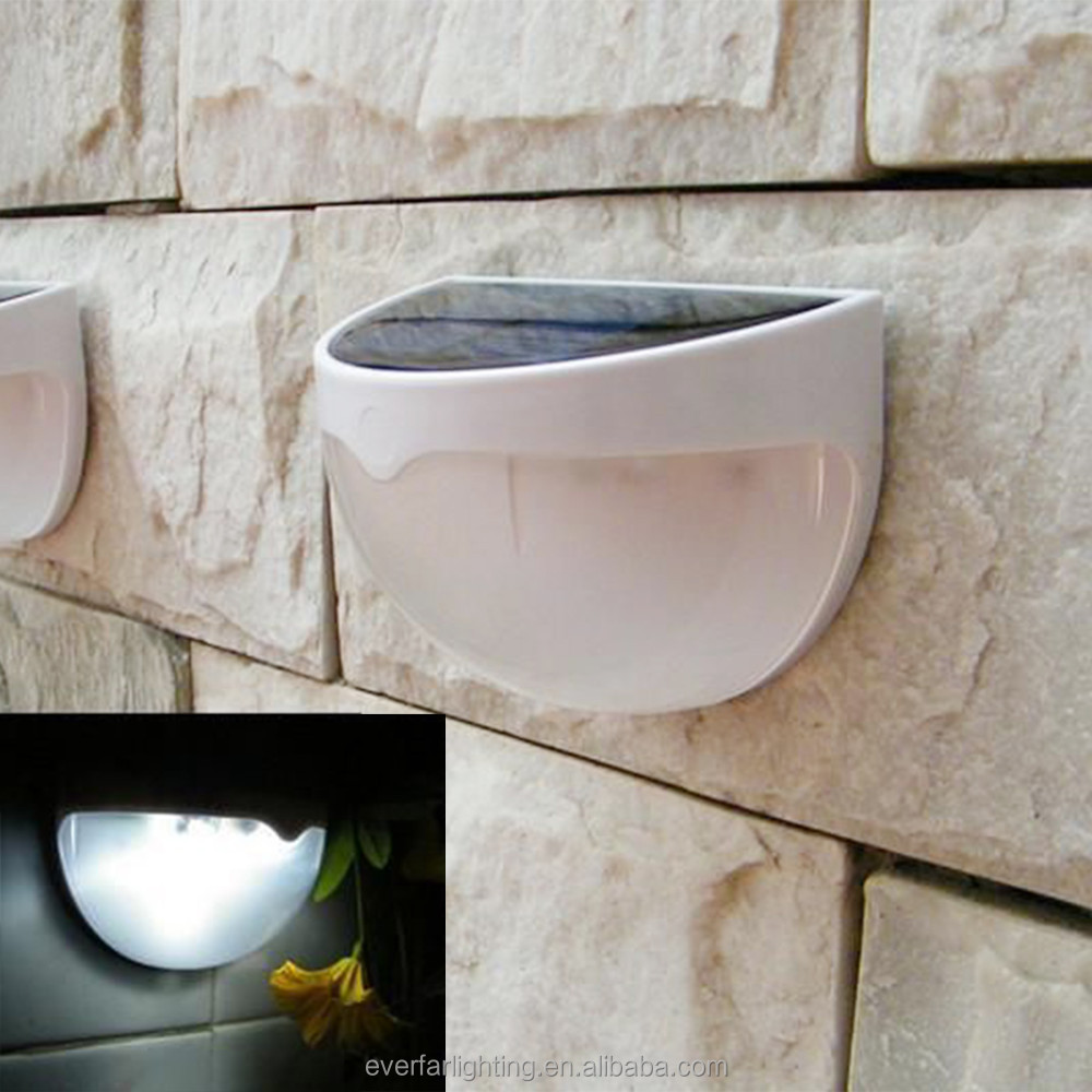 LED Solar Light Outdoor Water Proof Solar Garden Outdoor Wall Solar Power Lamps