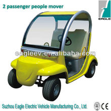 2 seats Electric passenger car for personnel carrier , CE approved