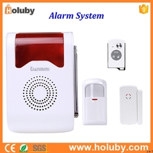 Smart Home GSM WIFI Burglar Security Alarm System for home security system with Remote Control Infrared Detector and Door Sensor