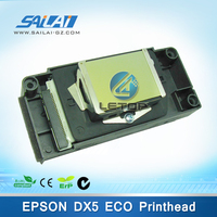 dx5 printhead f186000 for eco solvent galaxy/fortune lit/roland/mutoh/allwin printer (locked/encryption)