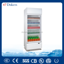 660L single big door upright showcase cooler ,visi cooler,display cabinet