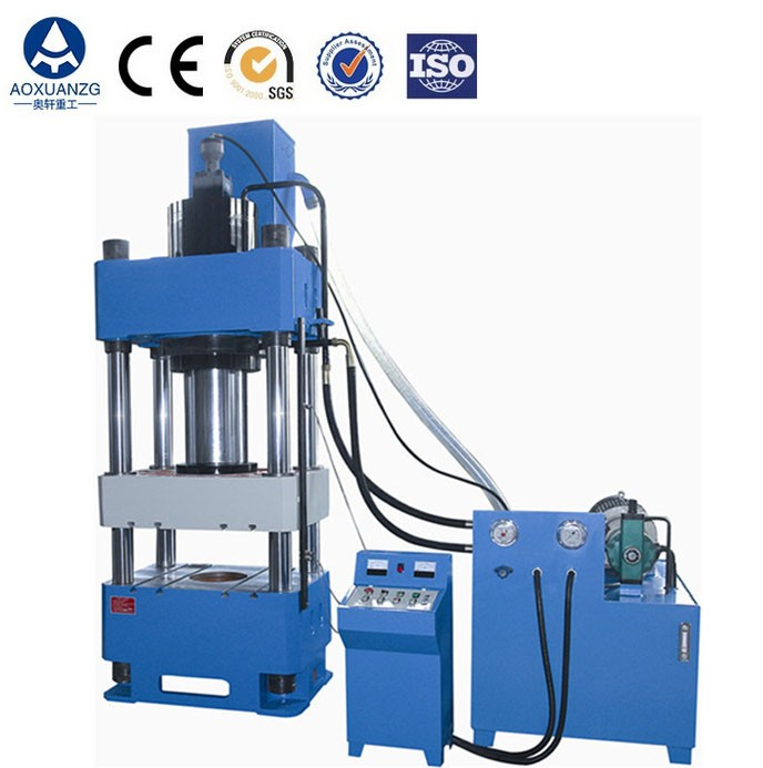 Custom tons 4 post hydraulic press machine,metal products hydraulic punching machine