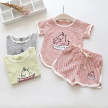 Bulk Childrens Clothes Wholesale Kids Boutique Girl Tops Ruffle Clothing Set