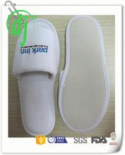 disposable shower shoes hotel /popular red hotel velour slipper