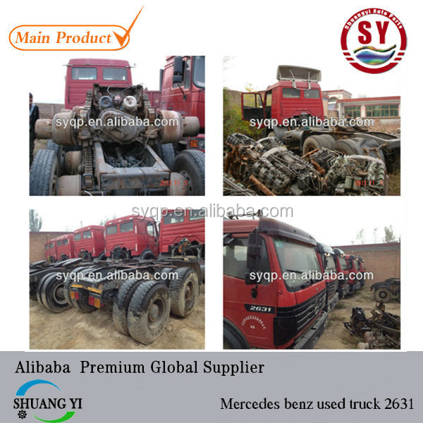 used truck 2631 ,2040,3340having 5sets stock