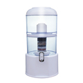 Water Filter Dispenser 64Cup Large 4Gallon Countertop Filter System Transform Tap Water to Premium Crystal Clear Alkaline Minera