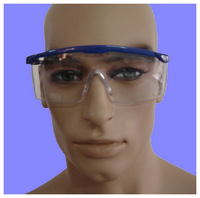 disposable safety goggle / protective eye glasses / eyewear with anti-fog