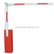 road barrier gate with fence pole ,fold pole barrier gate car parking system